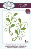 Sue Wilson Craft Dies - Finishing Touches - Oak Leaf Swag – CED1493